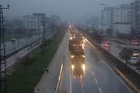 Kilis'ten Münbiç Bölgesine Zırhlı Muharrebe Aracı Sevkiyatı