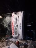 Kırşehir'de Otobüs Devrildi Açıklaması 3 Kişi Öldü 35 Kişi Yaralandı