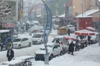 BALIKÇI ESNAFI - Malazgirt'te Kar Kürekleri Tamamen Tüketildi