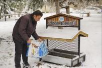 Nevşehir Belediyesi Hayvanları Unutmadı