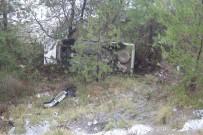 Otomobil, Uçuruma Yuvarlandı Açıklaması 3 Yaralı