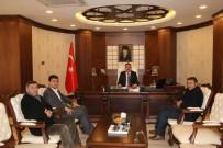 VAN GÖLÜ - Seyehat Acenteleri Yetkililerinden Vali Akbıyık'a Ziyaret Tti