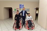 TEKERLEKLİ SANDALYE BASKETBOL - Tekerlekli Sandalyeler Engelli Sporculara Teslim Edildi