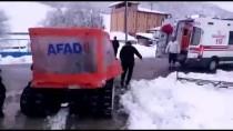 SOĞUK ALGINLIĞI - Tokat'ta Köydeki Hastaya 6 Saatte Ulaşıldı