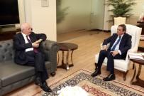 YENİMAHALLE BELEDİYESİ - TSE Başkanı Şahin'den Başkan Yaşar'a Ziyaret