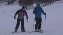 Yılbaşı Öncesi Sarıkamış Cıbıltepe Kayak Merkezine Yabancı İlgisi