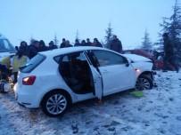 Yoğun Kar Yağışı Kaza Getirdi Açıklaması 1 Ölü, 7 Yaralı