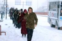 Yozgat'ta Kar Yağışı Zor Anlar Yaşattı