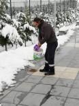 AKSARAY BELEDİYESİ - Aksaray Belediyesi Doğaya Yem Bıraktı