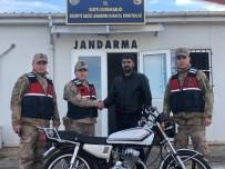 Çalınan Motosikleti Jandarma Yakaladı