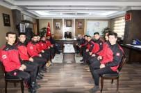 Çatıksuspor'dan Başkan Memiş'e Ziyaret