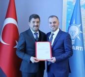 Devrek'in Yeni AK Parti İlçe Başkanı Canbaş Oldu