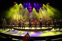 CANLI HEYKEL - GAÜN'de Muhteşem  'Gazi'm Antep' Konseri