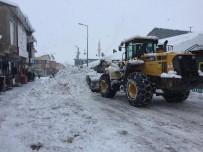 Kar Nedeniyle Kapanan O Köyün Yolu Açıldı