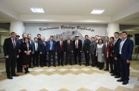 KASTAMONU ÜNIVERSITESI - Kırgızistan Heyeti, Başkan Babaş'ı Ziyaret Etti