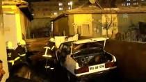 Kırıkkale'de Otomobil Kundaklandı