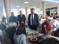 Rektör Akın Levent, Öğrencilerle Biraraya Geldi