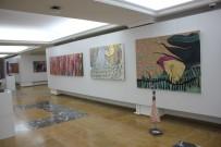MALTEPE ÜNIVERSITESI - Sanatçı Sergisi Almanya'da Tedavi Gördüğü İçin Sergisi Arkadaşları Tarafından Açıldı