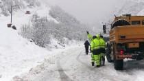 Tunceli'de Kar Yağışı Ve Tipi