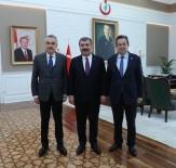 AKBÜK - AK Partili Savaş, Sağlık Bakanı Koca'yı Ziyaret Etti