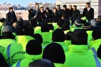 HACI BAYRAM - Ankara Büyükşehir Belediyesi Genel Sekreteri Tuzcuoğlu'ndan Personele Ziyaret