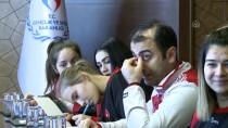 HENTBOL - Bakan Kasapoğlu, Kadın Hentbolcuları Kabul Etti