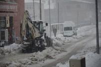 Beytüşşebap'ta Kar Yağışı Etkisini Sürdürüyor