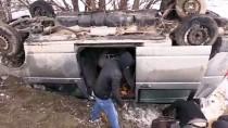 Cenaze Yolunda Trafik Kazası Açıklaması 4 Yaralı