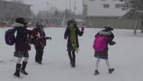 Çocuklar Kar Tatilinin Keyfini Çıkardı