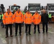 İŞ MAKİNASI - Erzincan Belediyesi Kışa Hazır