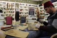 DUMLU - Erzurum'un Deri Ustaları MNG AVM'de Hünerlerini Sergiliyor