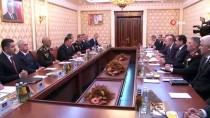AZERBAYCAN CUMHURBAŞKANI - İçişleri Bakanı Süleyman Soylu Azerbaycanlı Mevkidaşıyla Bir Araya Geldi