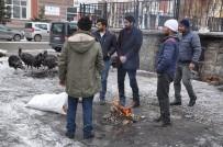 Kars'ta Yılbaşı Hindileri Pazara İndi