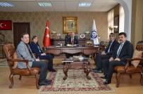 KÜSİ'den Rektör Akın Levent'e Ziyaret