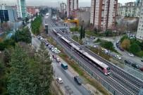 YÜKSEK HıZLı TREN - Marmaray İlk Kez Banliyö Hattına Çıktı