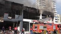 ALİ İHSAN SU - Mersin'de İş Yeri Yangını Açıklaması 1 Ölü, 5 Yaralı