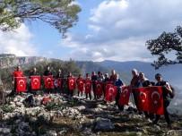 ANMA ETKİNLİĞİ - Milas'ta Dağcılar Sarıkamış Şehitlerini Andı