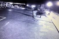 GÜLÜÇ - Otomobilin Takla Atma Anı Güvenlik Kamerasında