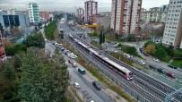 YÜKSEK HıZLı TREN - (ÖZEL) Marmaray İlk Kez Banliyö Hattına Çıktı