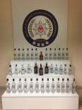 Polis, Halılara Gizlenmiş 51 Şişe Kaçak İçki Buldu