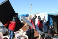 YARDIM MALZEMESİ - Suriye'deki Sel Mağdurlarına Yardım