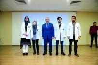 PEYAMİ BATTAL - Tıp Fakültesi Öğrencilerine Beyaz Önlük Giydirildi