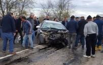 ÇATALHÖYÜK - Adana'da Trafik Kazası Açıklaması 1 Ölü, 2 Yaralı