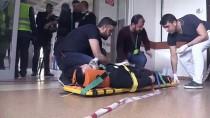 TATBIKAT - Bitlis Devlet Hastanesinde Yangın Tatbikatı