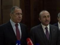 SERGEY LAVROV - Çavuşoğlu'ndan Rus Mevkidaşıyla Ortak Basın Açıklaması