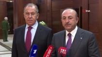 DIŞİŞLERİ BAKANLARI - Dışişleri Bakanı Çavuşoğlu Açıklaması 'Suriye Konusunda Rusya Ve İran'la Yakın İşbirliği İçinde Çalışmaya Devam Edeceğiz'
