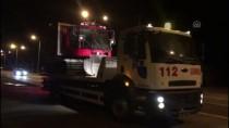 Hasta Kardeşler Paletli Ambulansla Kurtarıldı