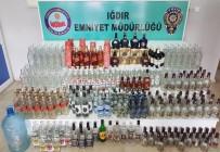 Iğdır'da Kaçak İçki Operasyonu