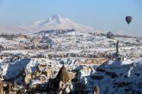 SICAK HAVA BALONU - Kapadokya'dan Muhteşem Erciyes Görüntüsü