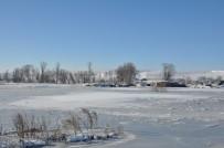 Kars Eksi 24 İle Buz Kesti
